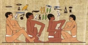 Pratiques de thérapies de l'ancienne Égypte.